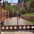 Portao industrial ferro