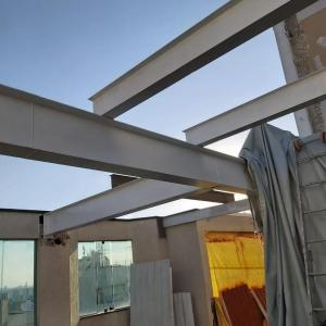 Estrutura metalica para casas