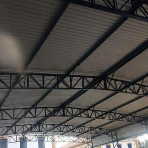 Estrutura metalica telhado