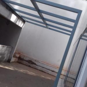 Pergolado metalico garagem
