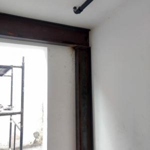 Reforço estrutural em paredes