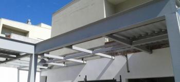 Coberturas metalicas para varandas