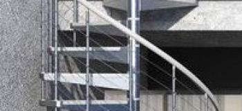 Escada caracol metalica preço