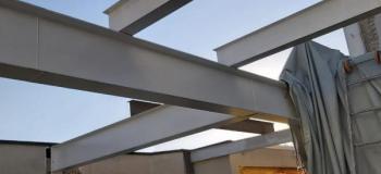 Estrutura metalica para construção de casas