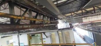 Manutenção estrutural metálica
